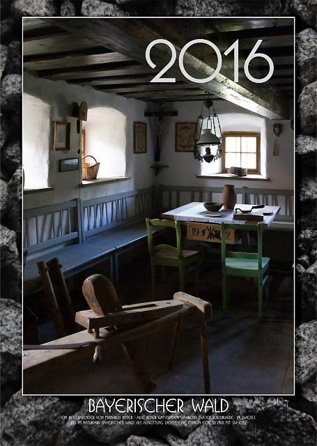 Titelblatt des Kalenders für 2016